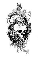 A tattoo design for a Friend. by YanickPaquette