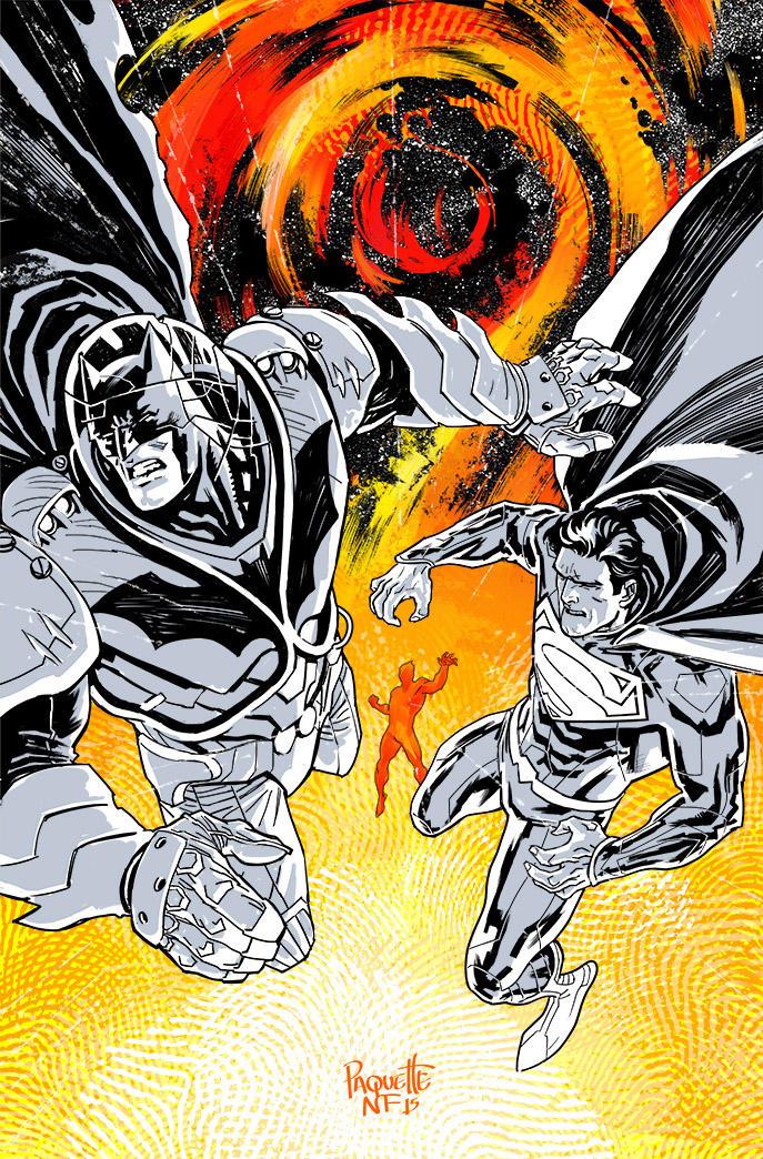 Batman Superman 30 Color Code by YanickPaquette