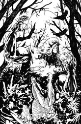 Swamp Thing Variant by YanickPaquette