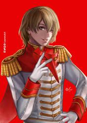 Persona 5 - Goro Akechi by LeorenArt