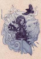 Jon Snow by LeorenArt