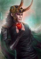 Loki Laufeyson by LeorenArt