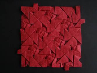 Iso Area Cross Pattee Tessellation - Daniel Kwan by Atriee