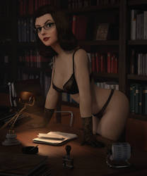 The New Secretary by Pseudonym3D