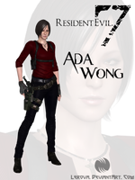WIP: RE7 Ada Wong Fan Mod by Lerova