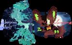 Axolgooey Advent - Lycangooey/Weeping Ghost [clos] by DrachenKitz