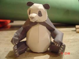 Panda Papercraft by Vargaskyld