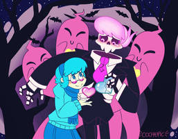 Mystery Skulls by cochepic