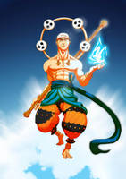 God Enel by ixtrove