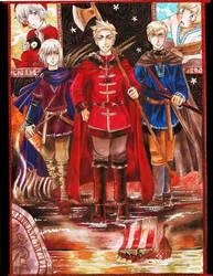 APH - The Vikings by CaeruleaLacus