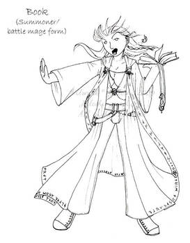 Lines: Battle Mage Book by Jateshi