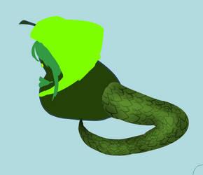 Rough Serpens Pear by Jateshi