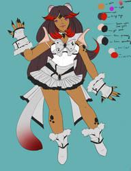 CA  Radiant Sailor Jet Ermine by Jateshi