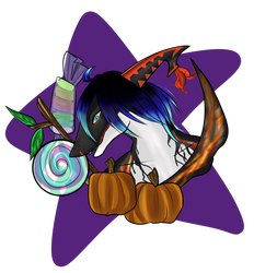 [Halloween Headshot Exchange: Moxi!] by Jateshi