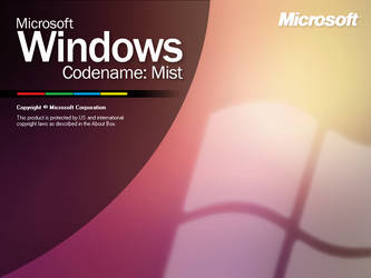 Windows - Codename: Mist by WestralInc