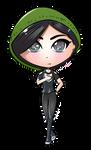 Green (chibi avatar) by JessHavok