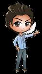 Shazam (chibi avatar) by JessHavok