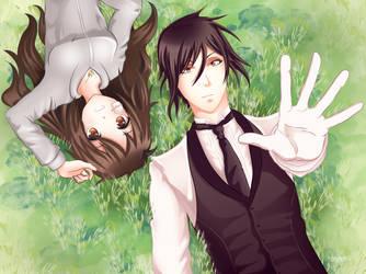 Sebastian and Zara (commission) by JessHavok