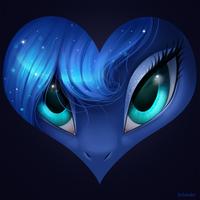 Luna is love by Scheadar