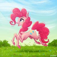 Pinkie pie by Scheadar