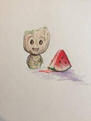 Groot by dieingcity