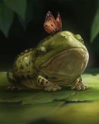 Frog by kepkepkep