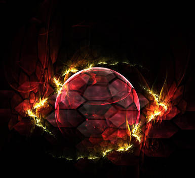 great ball on fire... by FeliFee