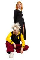 Maka and Soul cosplay by unikorn