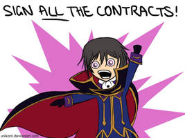 Lelouch the Contract Whore by unikorn