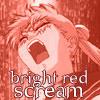 Bright Red Scream - SailorMoon by unikorn