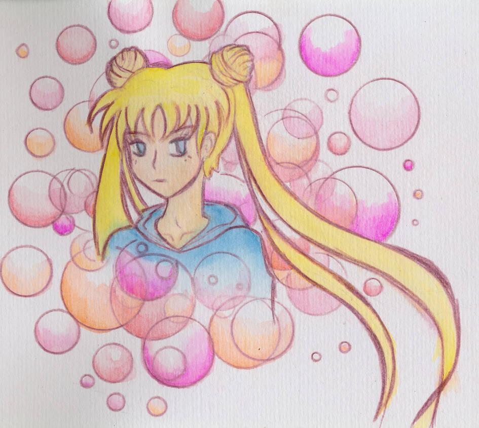 Sailor Moon Bubbles by unikorn