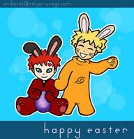 GaaNaru Easter Bunnies by unikorn