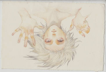 Upside down by meomeongungu