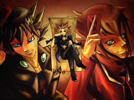 Yugioh 10 th Anniversary by darkness333