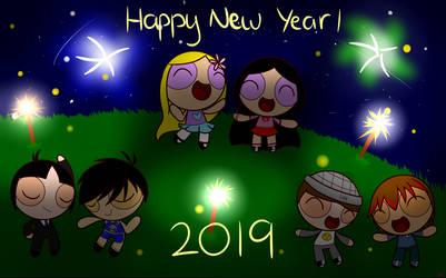 Happy New Year 2019! by FlutterGamer224