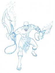 Kratos by RagingBarbarian