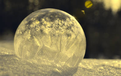 Magic Snow Globe by WhimsicalEarthWitch