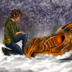 Percy Jackson and Heroes of Olympus by spidiman