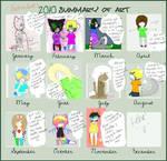 2010 Art Summary by LunaxLove