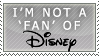 Dinsey: not a fan stamp by ShadowXEyenoom