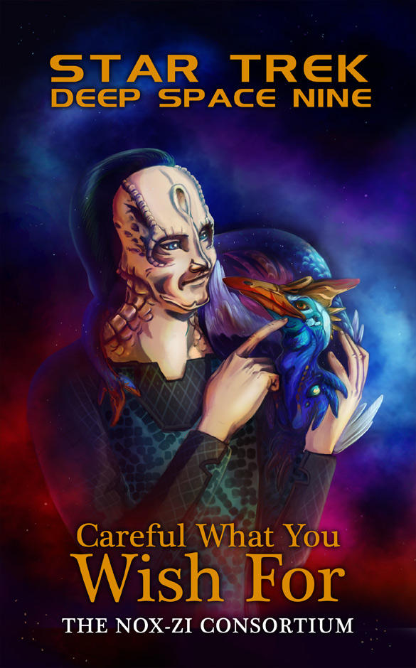 DS9 - Careful What You Wish For cover by noxfoxArts