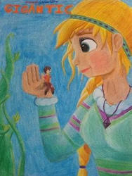 Poster Of Disney S Gigantic   Fanmade By Katalyne  by AshleyGirlJava
