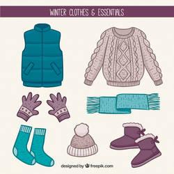 Hand-drawn-winter-clothes-essentials 23-2147722014 by AshleyGirlJava