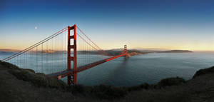 Golden Gate Bridge by F1L1P