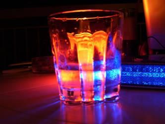 Colored glass by ventrix24