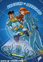Valerian and Laureline. by soyivang