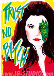 Trust no Bitch 8 Jane Badler as Diana by soyivang