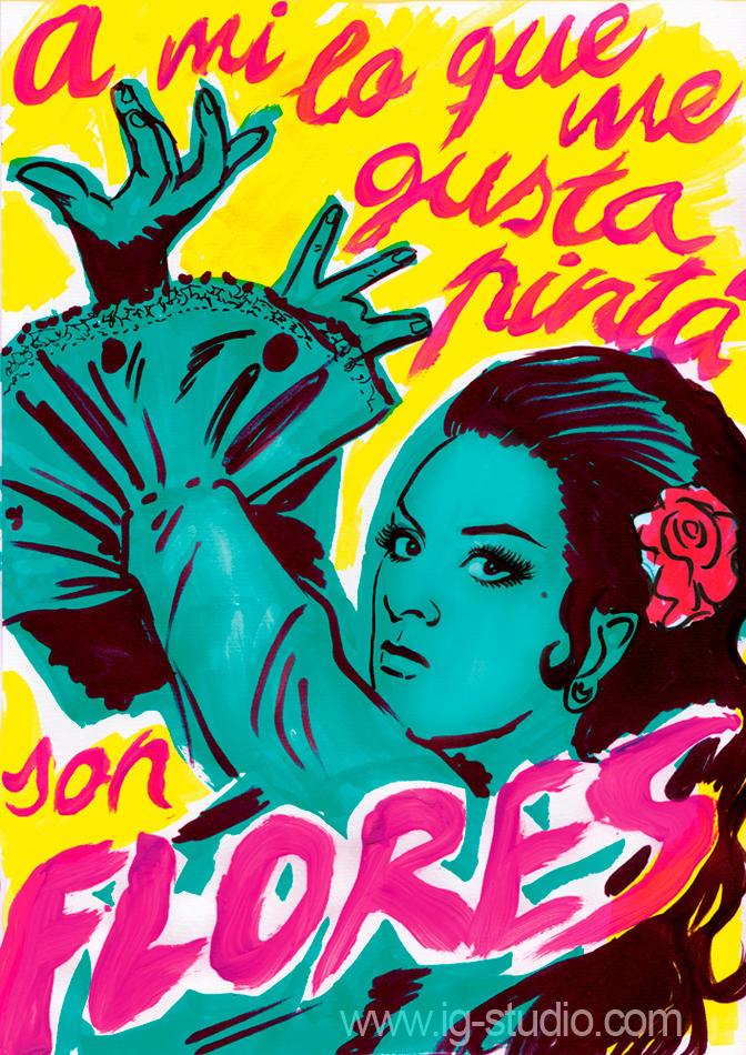 Lola Flores y el arte moderno by soyivang