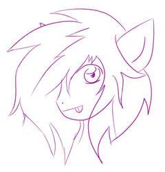 Random Pony by WeirdoAnimeGirl
