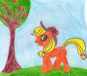 Applejack by Daring-Dash-Hoof